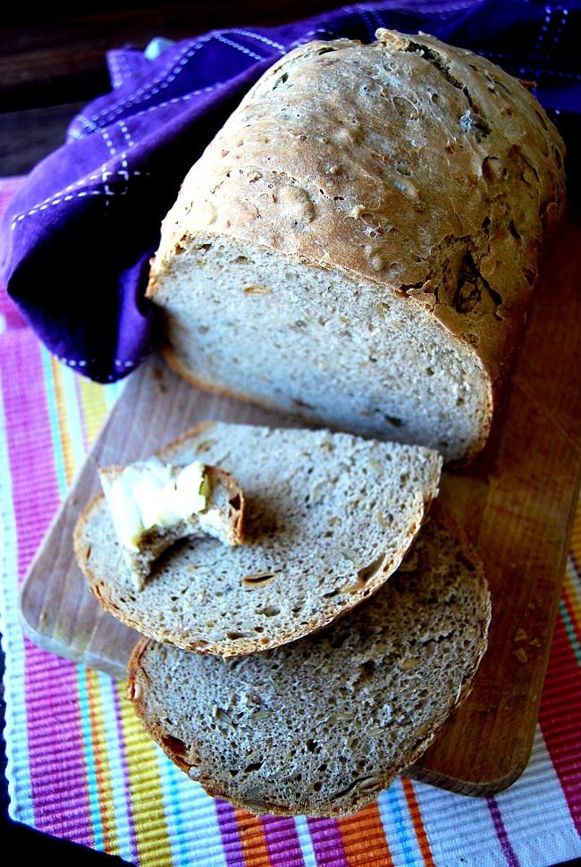 chleb domowy orkiszowy