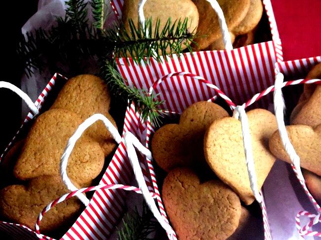"""ciasteczka imbirowe """"z charakterem"""" - www.wolnakuchnia.pl"""